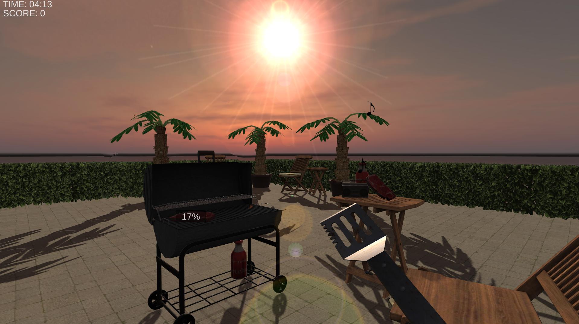 BBQ Simulator