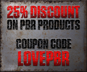 Use coupon code LOVEPBR for a 25% discount on all products in the shop!