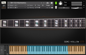 Electric Guitar Harmonics Library (SH-153)