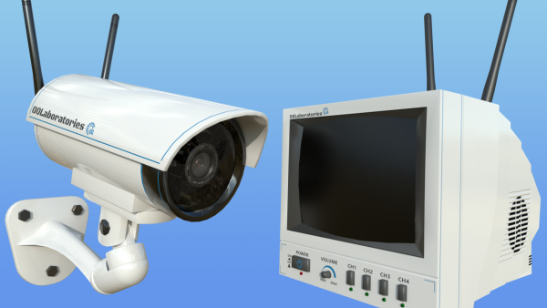 Security Camera PBR